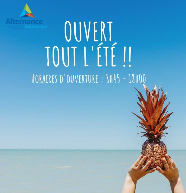 Rentrée 2019-2020 Alternance Sud Atlantique Rochefort BTS