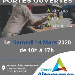 Groupe Alternance Rochefort Portes Ouvertes 2020 Etudes Formation