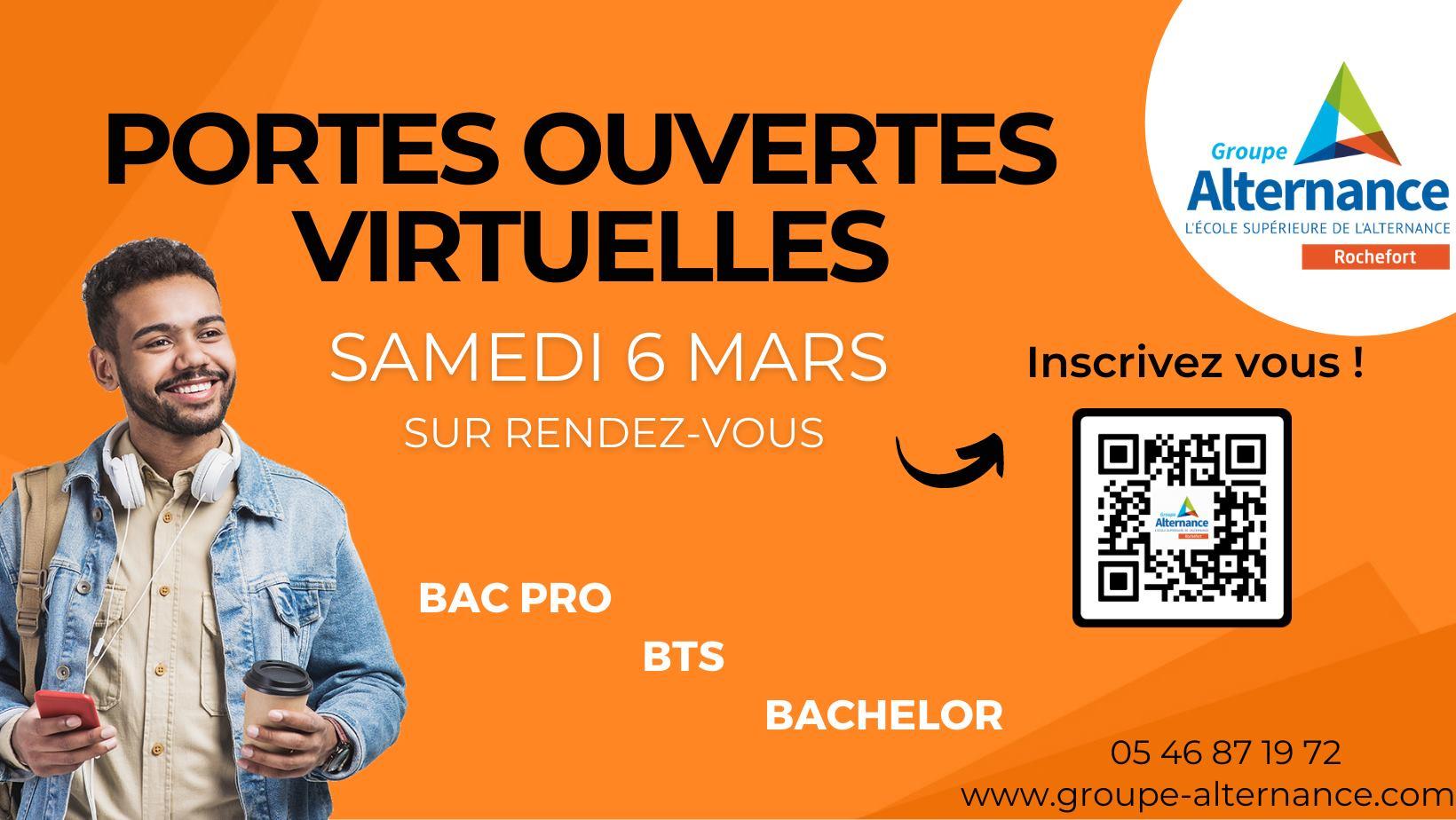 Portes ouvertes virtuelles en ligne Groupe alternance Rochefort