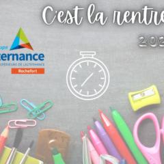 La rentrée 2021-2022 pour les étudiants du Groupe Alternance Rochefort